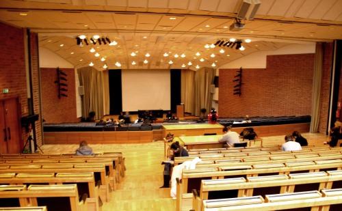 auditorium on jyväskylä campus