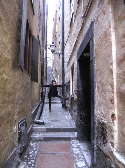 martin trotzigs grand, the narrowest alleyway in all of stockholm